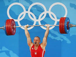 olympic weight lift