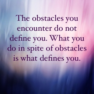 obstacles definition