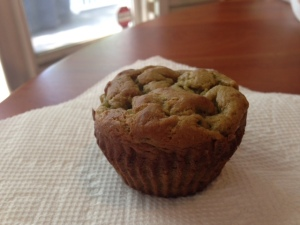 banana avocado muffin