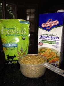 freekeh ingredients