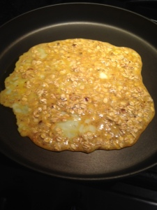 oatmeal egg mixture